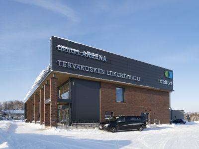 Delfort areena, Tervakoski Kuvat: Airam Electric Oy Ab Kuvaaja: Kari Palsila